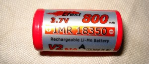 Li-Mn (IMR) rechargeable battery