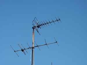 dvb-t, Antenne, Fernsehantenne, Dachantenne
