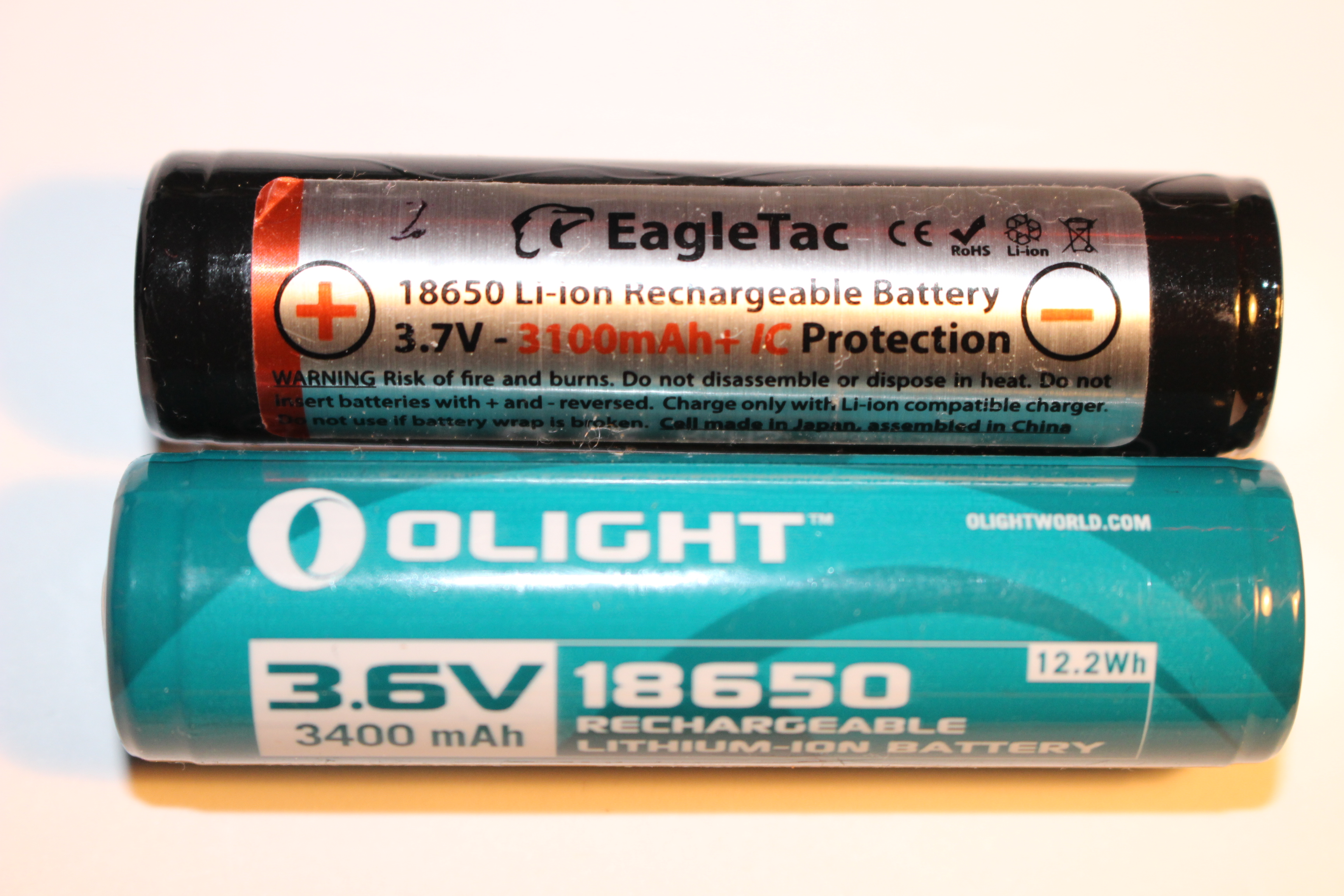 As you can Lithium-ion batteries