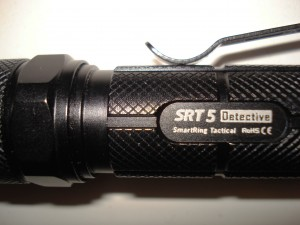 Nitecore SRT 5 tactical flashlight