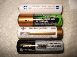 NiMH battery brands