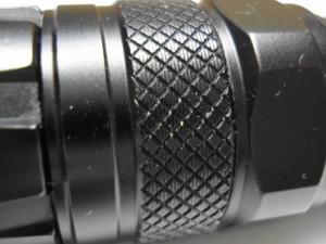 LED flashlight finish