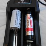 Xtar VP1 charger accepts different battery sizes