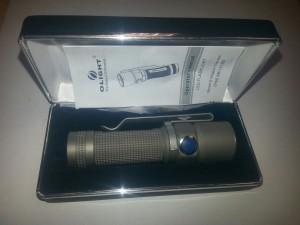 Olight S15 Baton Titanium