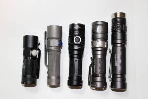 Image of great flashlights siutable for everyday-carry