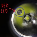 The EC21's RED LED
