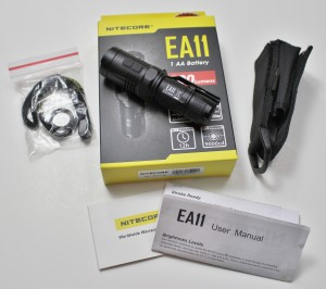 EA11 package & accessories
