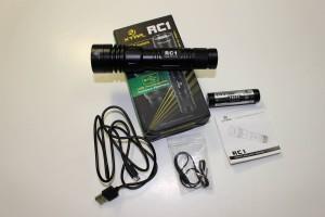 XTAR RC1 accessories