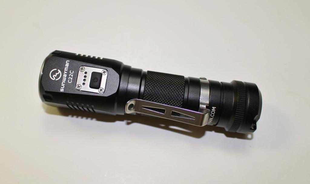 Sunwayman C22C flashlight
