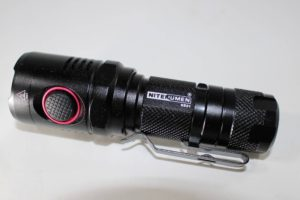 Nitenumen NE01 flashlight