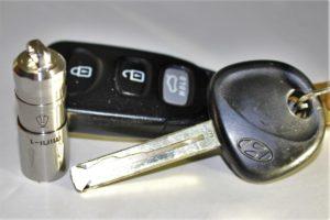 Smaller than a car key!