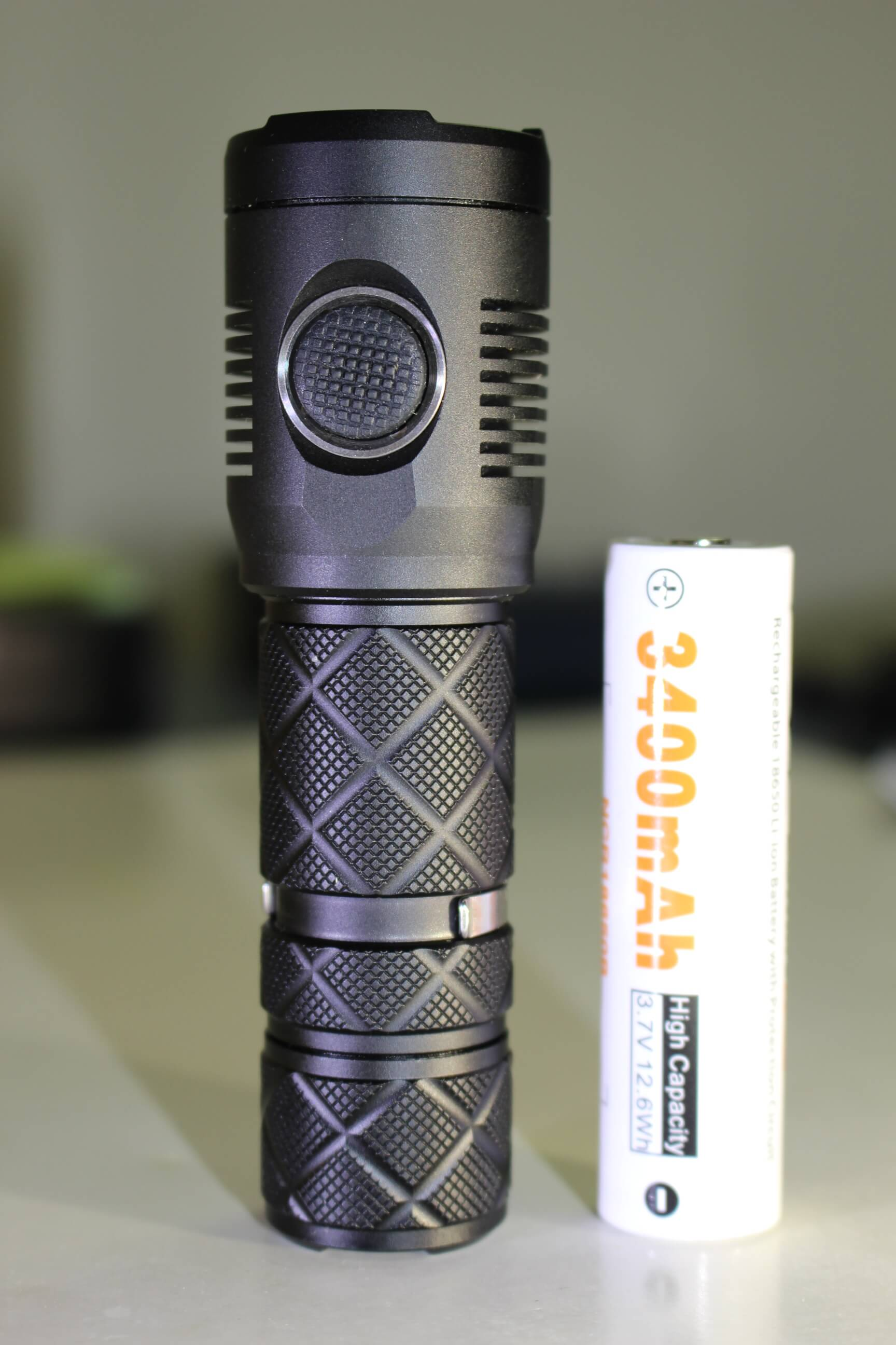 lumintop sd mini rechargeable flashlight review. Black Bedroom Furniture Sets. Home Design Ideas