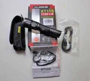 Klarus XT11S package