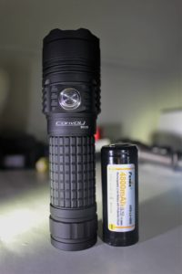 Convoy BD06 with 26650 battery