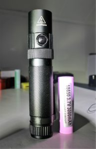 Posing w/an 18650 battery