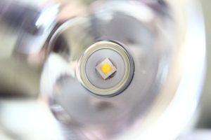 Reflector and XP-L HI LED