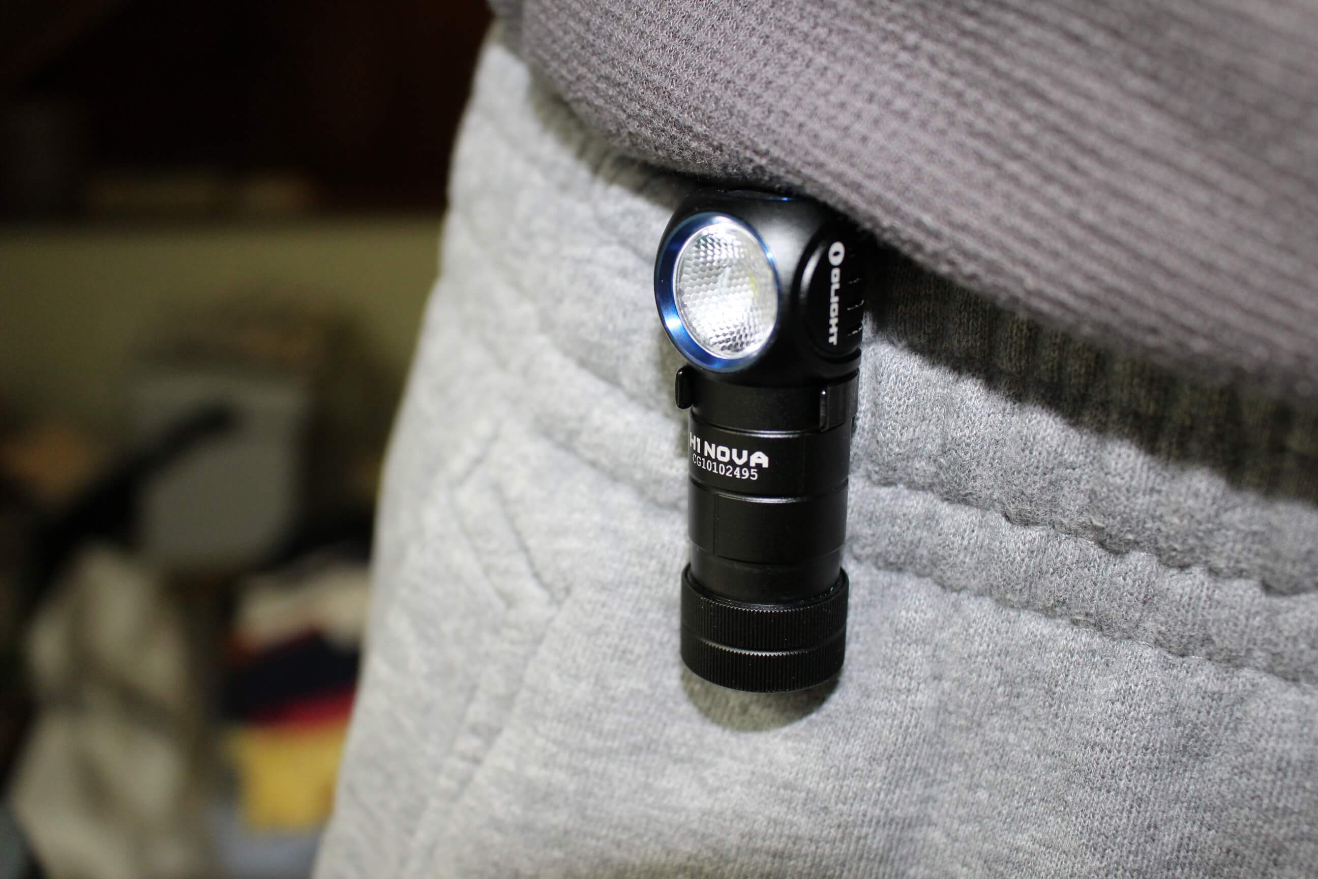 Olight H1 Nova Headband Flashlight Review