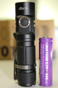 Utorch UT01 & 14500 battery