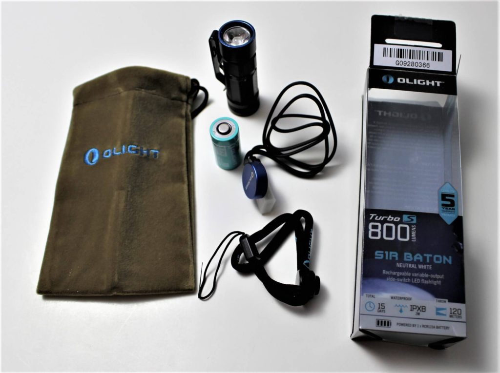 Olight S1R package