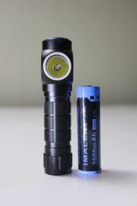 Imalent HR20 w/18650 battery