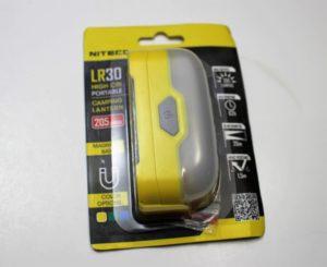 Nitecore LR30 package