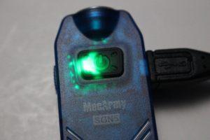 MecArmt SGN5 charging lamp
