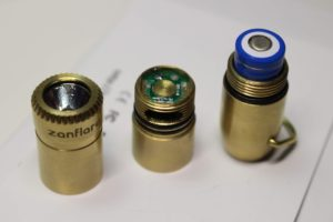 Zanflare F6 comes apart into 3 sections