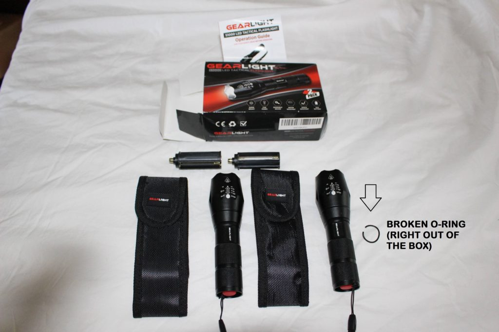 GearLight S1000 package