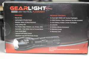 GearLight S1000 box