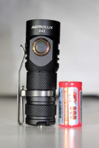Astrolux S42 & battery