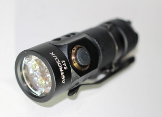 Astrolux S42 USB Rechargeable Flashlight Review