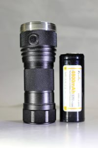 DQG Tiny 26650 and an 18650 battery