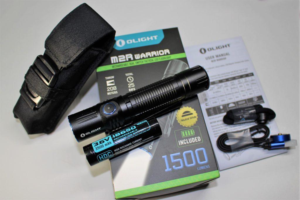 Olight M2R Packaging