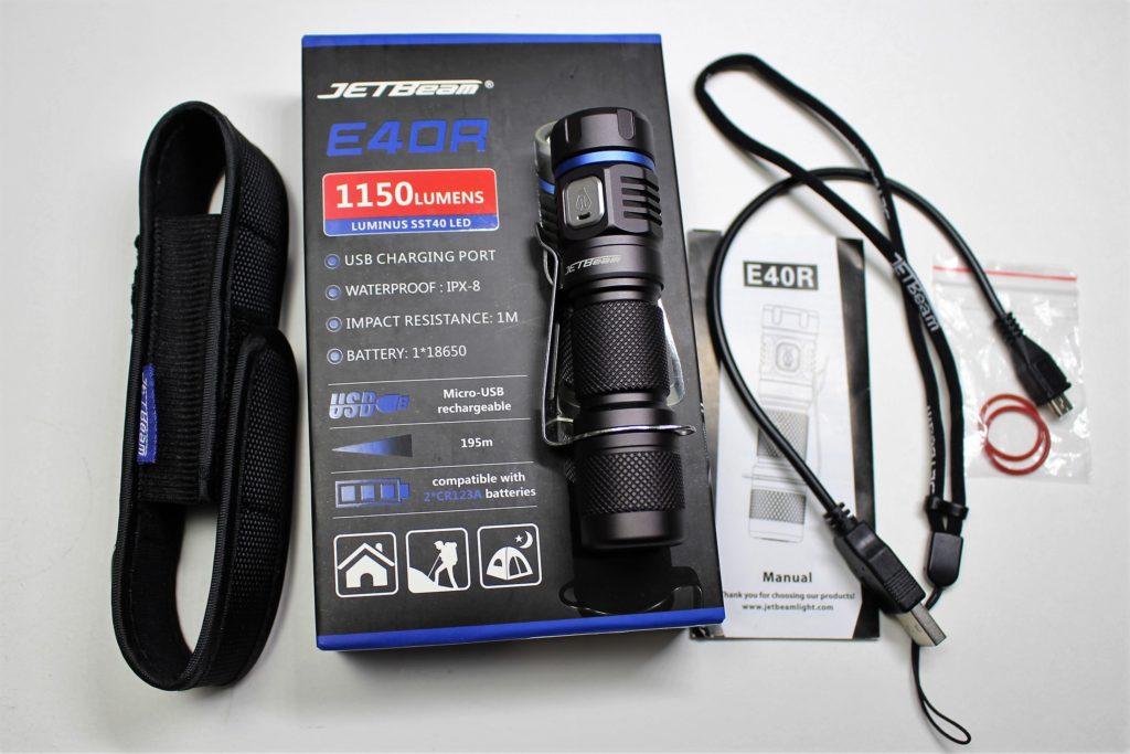 Jetbeam E40R accessories