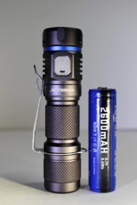 Jetbeam E40R and its own battery