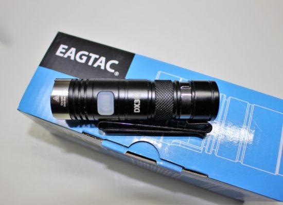 Eagtac DX3B Mini Pro USB Rechargeable Flashlight