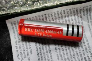 Fake 18650 battery