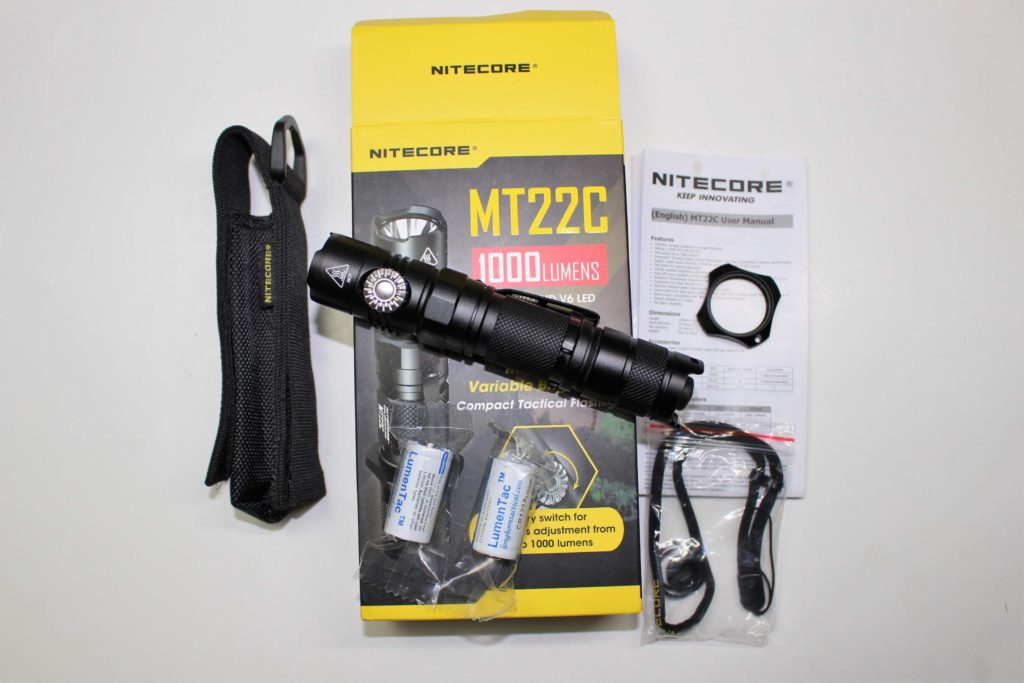 Nitecore MT22C package