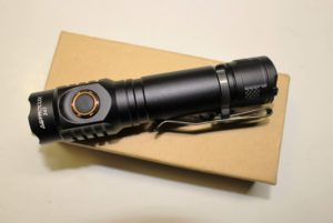 Astrolux S43 flashlight