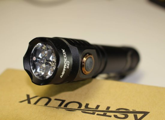 Astrolux S43 USB Rechargeable Flashlight Review
