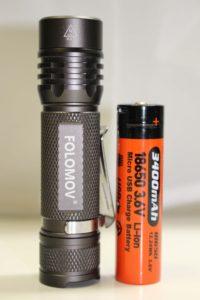 Folomov 18650S w/included battery