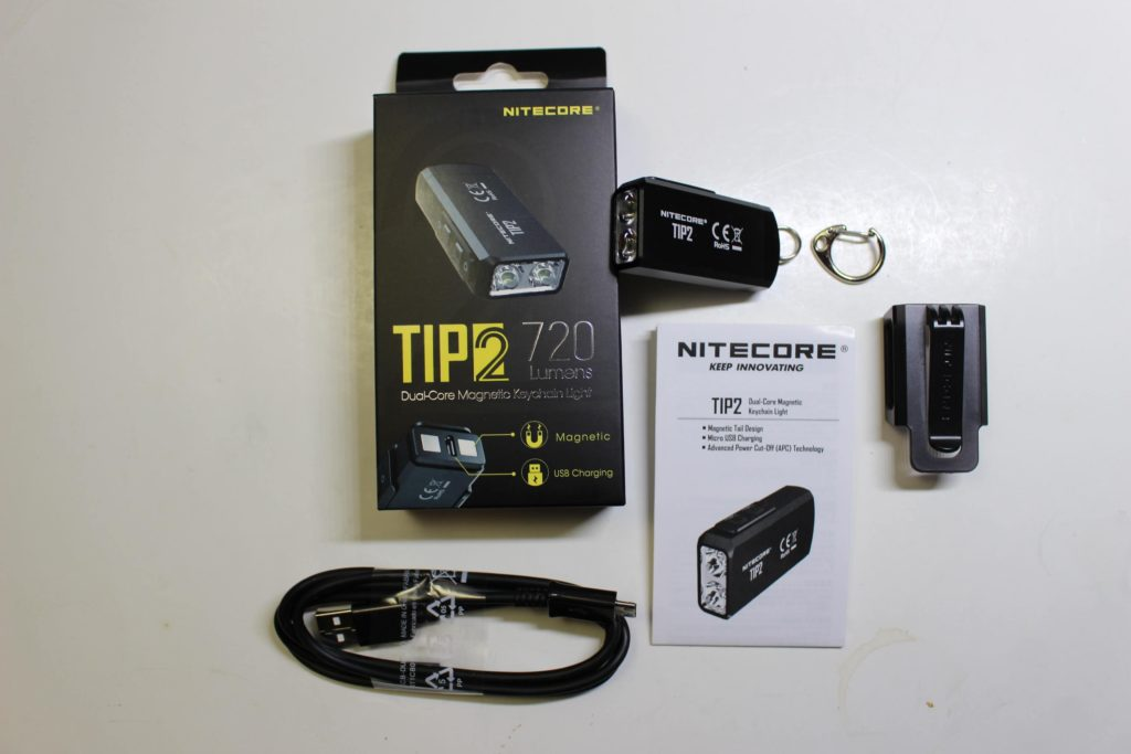 Nitecore TIP2 package