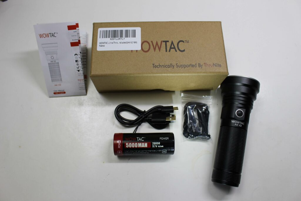 WOWTAC A4 and accessories