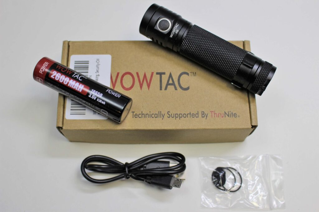 WOWTAC A6 package