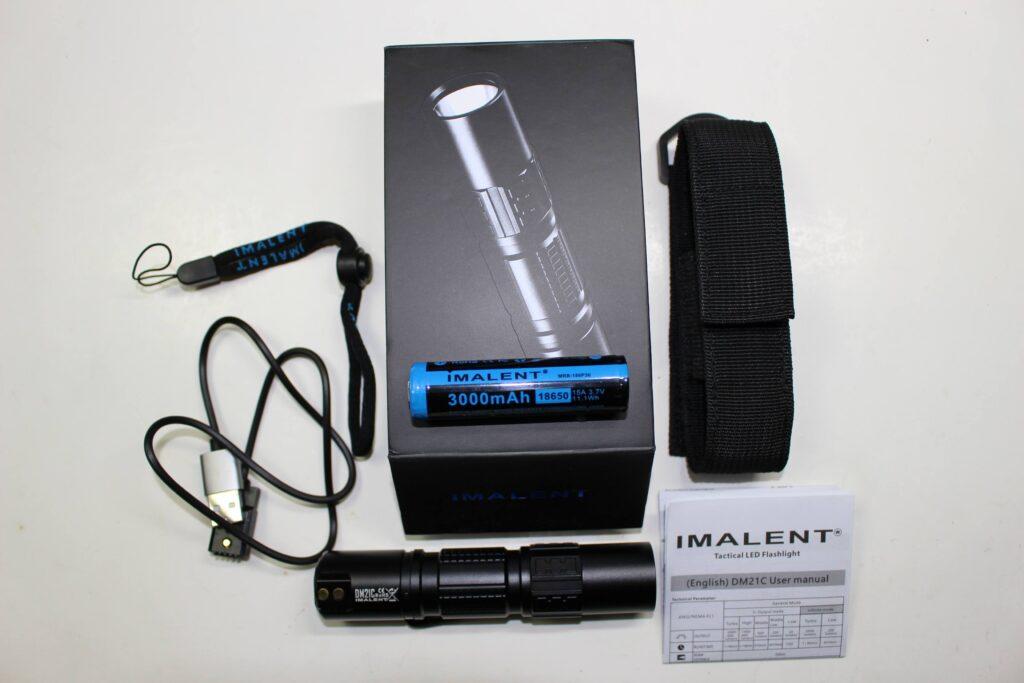 Imalent DM21C accessories