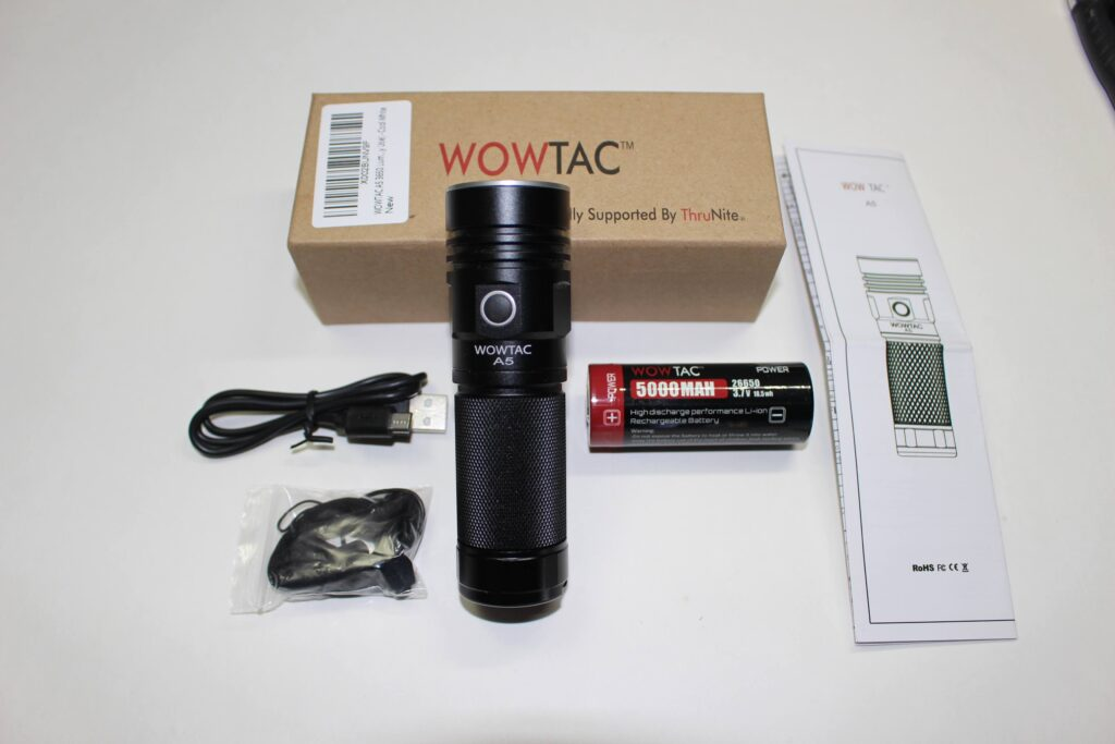 WOWTAC A5 packaging