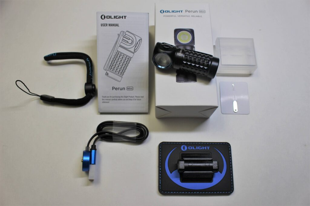 Olight Perun Mini accessory package