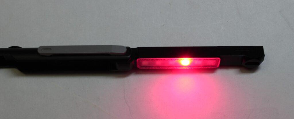 Wuben Gecko E61 red light