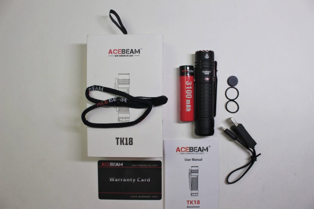 Acebeam TK18 package