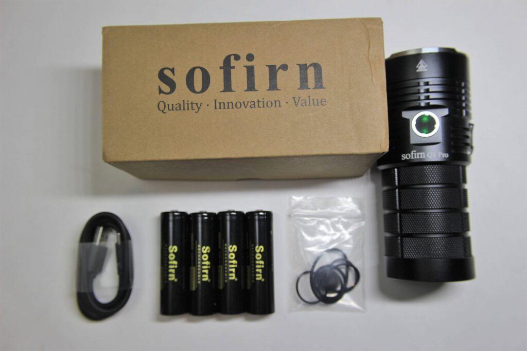 Sofirn Q8 Pro Flashlight Kit